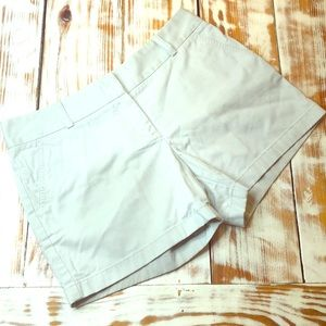 J. Crew Light Gray City Fit Chino Shorts Size 10